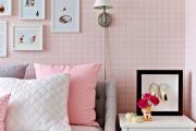 Фото 14 Фуксия, фрез и земляничный: 70+ трендовых расцветок обоев в розовой гамме