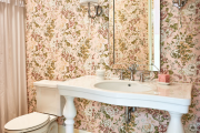Фото 28 Фуксия, фрез и земляничный: 70+ трендовых расцветок обоев в розовой гамме