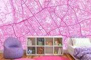 Фото 36 Фуксия, фрез и земляничный: 70+ трендовых расцветок обоев в розовой гамме