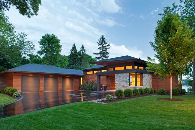 Стильный дом в современном стиле