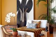 Фото 12 Цвет охра в интерьере: создаем утонченный дизайн квартиры в янтарно-медовой гамме