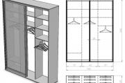 Фото 5 Выбираем идеальный двустворчатый шкаф для одежды: рекомендации дизайнеров