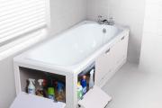 Фото 8 Экран под ванну: выбираем и устанавливаем самостоятельно