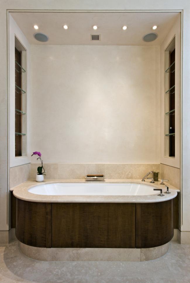 Съемные панели для овальной ванной