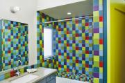Фото 5 Фиолетовая плитка в интерьере: 70+ идей гармоничных сочетаний оттенков, принтов и фактур