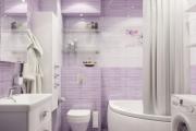 Фото 11 Фиолетовая плитка в интерьере: 70+ идей гармоничных сочетаний оттенков, принтов и фактур