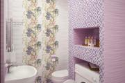 Фото 14 Фиолетовая плитка в интерьере: 70+ идей гармоничных сочетаний оттенков, принтов и фактур