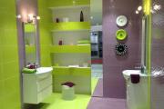 Фото 19 Фиолетовая плитка в интерьере: 70+ идей гармоничных сочетаний оттенков, принтов и фактур