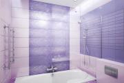 Фото 24 Фиолетовая плитка в интерьере: 70+ идей гармоничных сочетаний оттенков, принтов и фактур