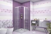 Фото 26 Фиолетовая плитка в интерьере: 70+ идей гармоничных сочетаний оттенков, принтов и фактур