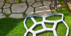 Садовые дорожки без проблем: что нужно знать и как выбрать нужную форму для заливки? фото