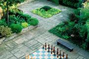 Фото 16 Садовые дорожки без проблем: что нужно знать и как выбрать нужную форму для заливки?