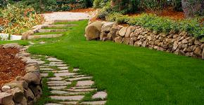 Клумбы из камней для сада: лучшие идеи и советы по декору от ландшафтных дизайнеров фото