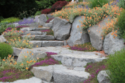 Фото 6 Клумбы из камней для сада: лучшие идеи и советы по декору от ландшафтных дизайнеров