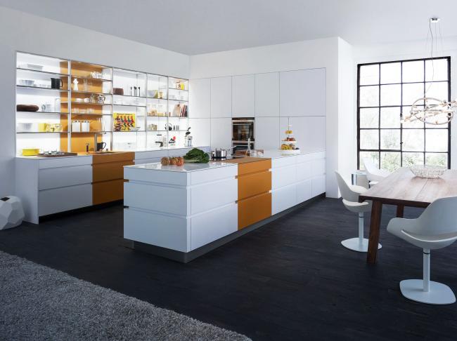 Визуальный минималистичный вариант современной мебели