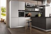 Фото 10 Минимализм в тренде: обзор элегантных кухонь без ручек и варианты их механизмов