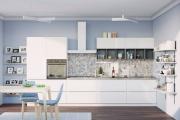 Фото 11 Минимализм в тренде: обзор элегантных кухонь без ручек и варианты их механизмов