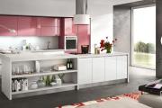 Фото 12 Минимализм в тренде: обзор элегантных кухонь без ручек и варианты их механизмов