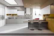 Фото 13 Минимализм в тренде: обзор элегантных кухонь без ручек и варианты их механизмов