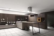 Фото 20 Минимализм в тренде: обзор элегантных кухонь без ручек и варианты их механизмов