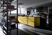 Фото 30 Минимализм в тренде: обзор элегантных кухонь без ручек и варианты их механизмов