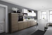 Фото 32 Минимализм в тренде: обзор элегантных кухонь без ручек и варианты их механизмов