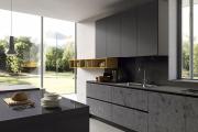 Фото 4 Минимализм в тренде: обзор элегантных кухонь без ручек и варианты их механизмов
