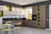 Фото 40 Минимализм в тренде: обзор элегантных кухонь без ручек и варианты их механизмов