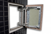 Фото 7 Нажимной сантехнический люк под плитку: как подобрать, конструктивные особенности и преимущества