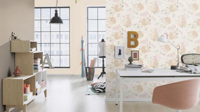 Декоративное настенное покрытие для квартиры-студии