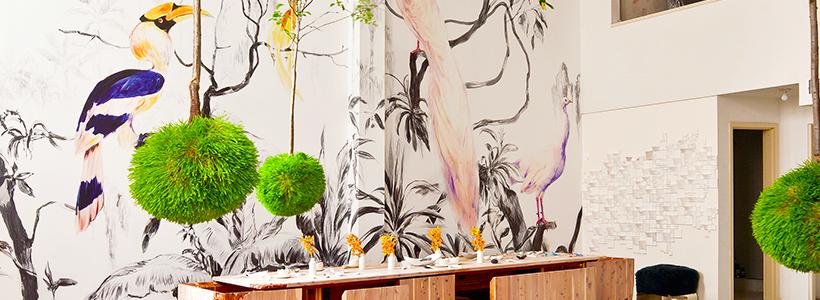 Анималистические принты и птицы на стенах: 70+ навеянных самой природой идей для интерьера