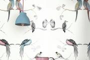 Фото 1 Анималистические принты и птицы на стенах: 70+ навеянных самой природой идей для интерьера