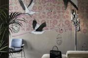 Фото 33 Анималистические принты и птицы на стенах: 70+ навеянных самой природой идей для интерьера