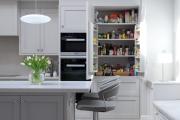 Фото 16 Шкаф-пенал для кухни (70+ фото): как выбрать мультифункциональный кухонный пенал и не переплатить?