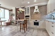 Фото 19 Шкаф-пенал для кухни (70+ фото): как выбрать мультифункциональный кухонный пенал и не переплатить?
