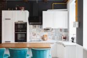 Фото 23 Шкаф-пенал для кухни (70+ фото): как выбрать мультифункциональный кухонный пенал и не переплатить?