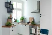 Фото 34 Системы хранения для кухни: выбираем мультифункциональный и современный шкаф-пенал