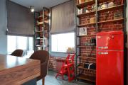 Фото 38 Системы хранения для кухни: выбираем мультифункциональный и современный шкаф-пенал