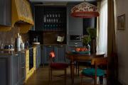 Фото 39 Шкаф-пенал для кухни (70+ фото): как выбрать мультифункциональный кухонный пенал и не переплатить?