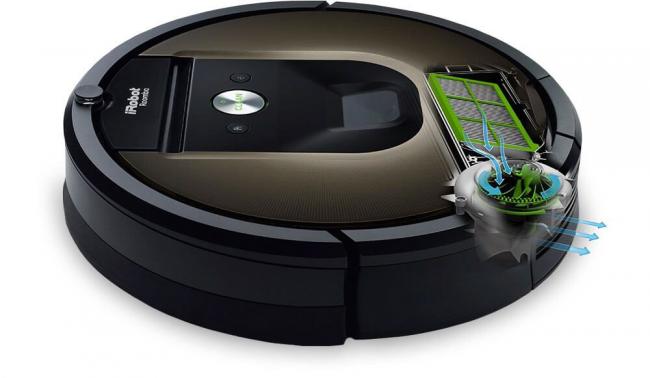 """Оснащенный высокотехнологичной системой """"Dirt Detect"""", iRobot Roomba распознает наиболее загрязненные уголки в и убирает их более тщательно"""