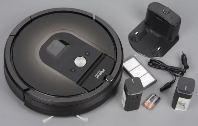 Полная коплектация современной модели IROBOT ROOMBA 980