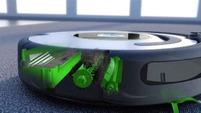 Повышенный «интеллект» нового робота проявляется в умеет ориентироваться в пространстве,а так же в поддержке удаленного управления с помощью мобильного приложения iRobot Home