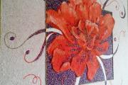 Фото 10 Картины и рисунки из жидких обоев: превращаем обыкновенные стены в яркие арт-объекты
