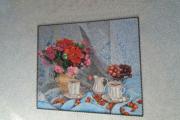 Фото 6 Картины и рисунки из жидких обоев: превращаем обыкновенные стены в яркие арт-объекты