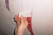 Фото 22 Картины и рисунки из жидких обоев: превращаем обыкновенные стены в яркие арт-объекты