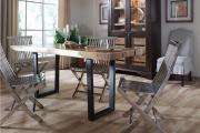 Фото 5 Складные стулья или спасение для маленьких кухонь: виды конструкций, плюсы и минусы