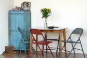 Фото 11 Складные стулья или спасение для маленьких кухонь: виды конструкций, плюсы и минусы