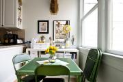 Фото 2 Складные стулья или спасение для маленьких кухонь: виды конструкций, плюсы и минусы