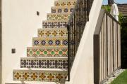 Фото 8 Ступени для лестниц из керамогранита: преимущества, облицовка и 60+ функциональных интерьерных идей