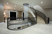 Фото 14 Ступени для лестниц из керамогранита: преимущества, облицовка и 60+ функциональных интерьерных идей